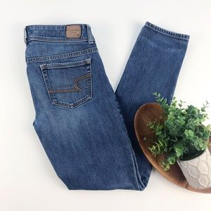 American Eagle Skinny Jeans Double Button